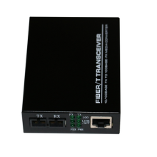 Mode Tunggal Untuk Multimode Ethernet ST Fiber Media Converter