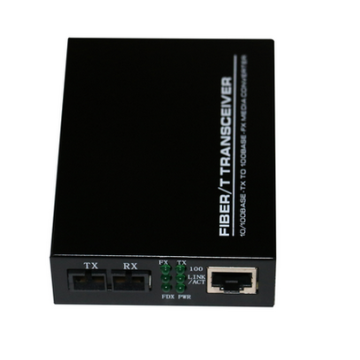 Mod Single Untuk Multimode Ethernet ST Fiber Media Converter