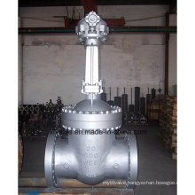 Large Diameter Cast Steel Flanged End Gate Valve
