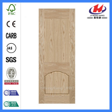 JHK-009-2 Oval Deep Molded Natural ASH Door Skin