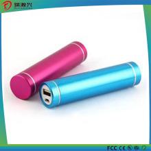 Форма цилиндр металл Мощность Банка зарядное устройство 2500mah емкость