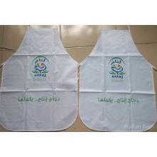 Promotion Polyester Schürze mit voller Farben Logo