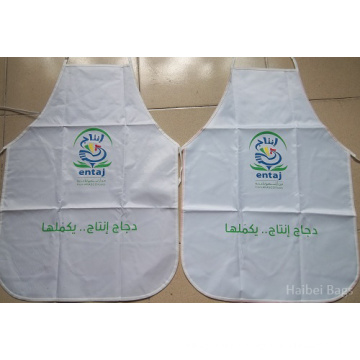 Promotional Polyester Apron with Full Colors Logo