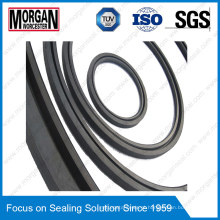 PTFE / NBR / FKM / Pmq Customized Large Size Rubber Seal