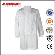 Manteau de laboratoire résistant à la flamme de haute qulity