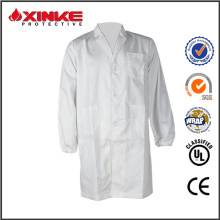 Casaco de laboratório de alta qulity Cotton Flame Resistant