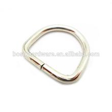 Art- und Weisequalitäts-Metalldickter D-Ring für Hundeleine