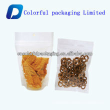 Beef jerky stand up bag/bulk bags stand bag/ sliced dried beef packaging bags