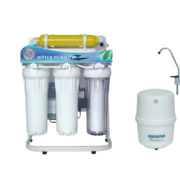 Sistema do purificador da água da osmose reversa de 6 fases com quadro