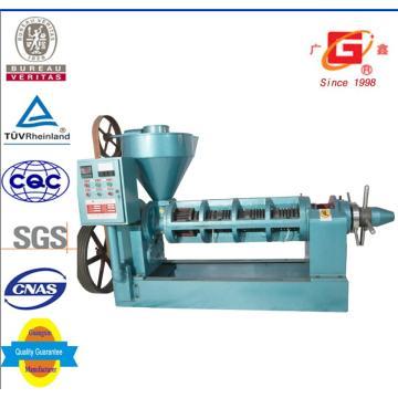 Food Grade Oil Extractor Semiautomática Oil Press Semente Extração Plant Yzyx10-J