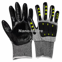 NMSAFETY anti vibrating glove anti vibrating glove with EN388