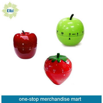 vegetable shaped manual kitchen  timer