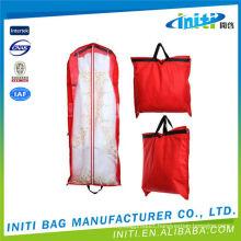 New products Eco-friendly cheap printing long wedding dress garment bag