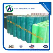 Galvanisierter geschweißter Maschendraht billig / 2X2 galvanisierter geschweißter Maschendraht für Zaun-Platte