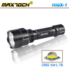 Maxtoch HI6X-1 Cree Rechargeable Power Flashlight T6 LED