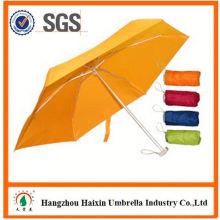 2015 Latest Design EVA Material fashion flower printed folding bottle umbrella