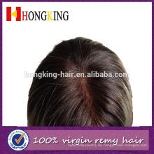 100% unverarbeitete brasilianische reine Haar volle Spitze Echthaar Perücke