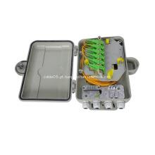 Caixa de terminais óptica de fibra de parede SMC 12 Cores
