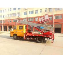 Nacelle articulée montée sur camion de 28m