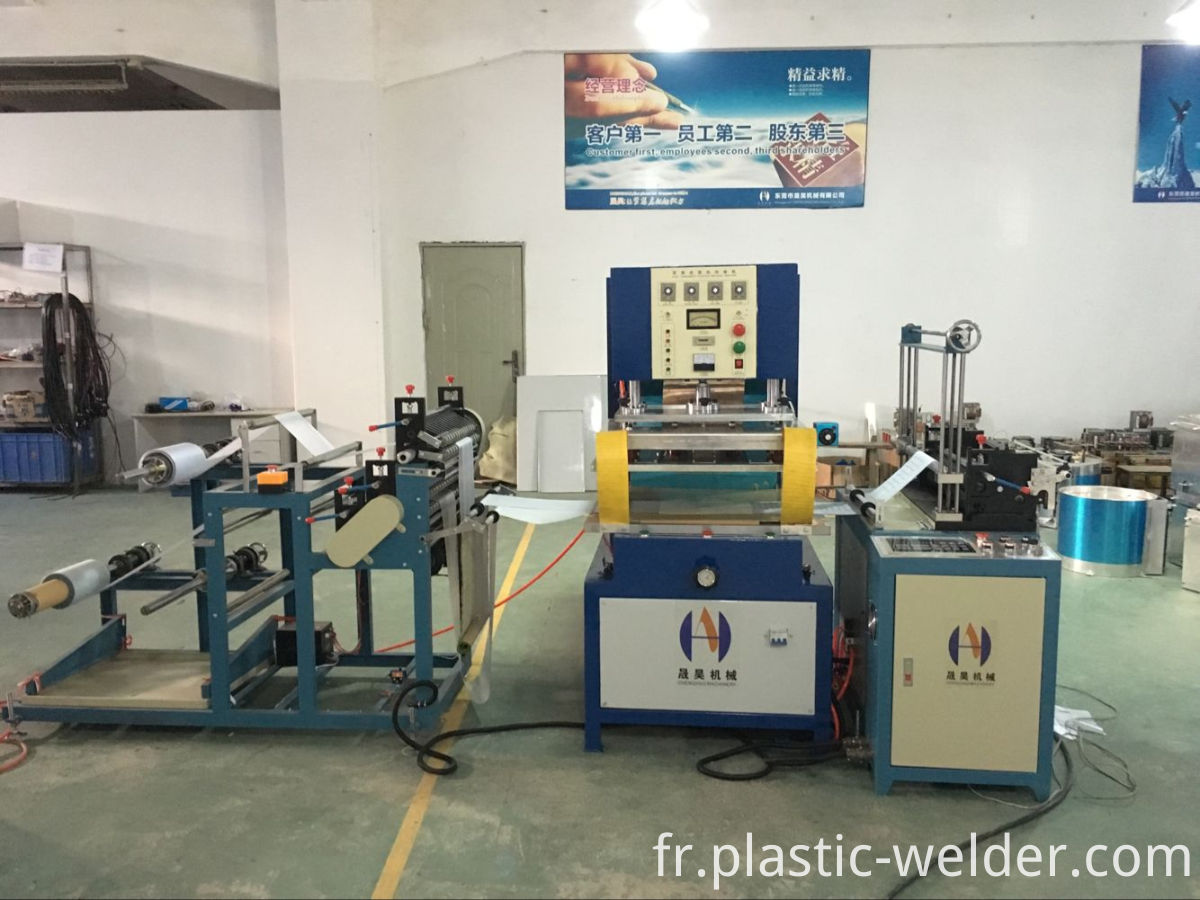 Automatic pvc bag making machine
