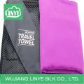 portable microfiber both sides brushed sport towel