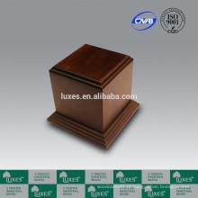Urnas de madeira LUXES Poplar sólido madeira Urn UN50 Urn & caixão