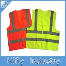 Nueva capa impermeable del traje de trabajo de la seguridad de la lluvia impermeable de la alta visibilidad de la llegada 2014 de la llegada