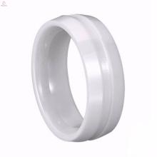 La conception en gros d'anneau de bijoux de prix d'usine sans pierre