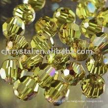 Granos de Rondelle de Cristal de grado AAA