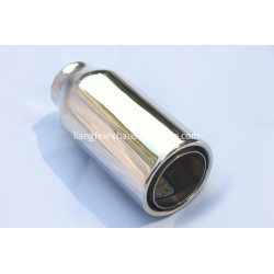 Stainless Steel Core and Shell Exhaust Tip