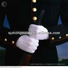 Военный Парад Перчатки Белые Хлопчатобумажные Перчатки