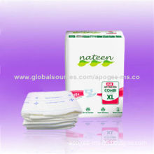 Cheap Babies' Print Adult Diapers with FDA, CE Marks, OEM and ODM Services Acceptable