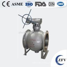 Сделано в Китае жесткие уплотнения фланца эксцентричный полу шаровой клапан