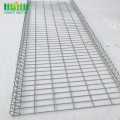 Galvanized Dilas Keamanan Roll Top Wire Mesh