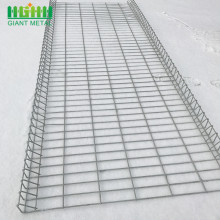 PVC Dilapisi Anti Climb Roll Top Security Fence