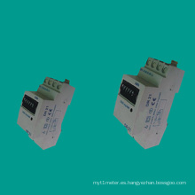 EDR21 Medidor de corriente monofásico para carril DIN