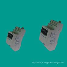 EDR21 Medidor de eletricidade monofásica para trilho DIN