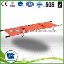 Aluminum alloy foldaway stretcher (two parts)