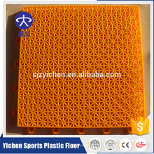 Nueva alfombra de enclavamiento sintética personalizada