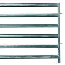 6 bar Bull Gate/6 bar heavy duty Corral Panel cattle fence panel galvanized for US AUS Factory price