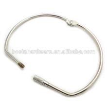 Art- und Weisequalitäts-Metallgroßer Schrauben-Mappen-Ring