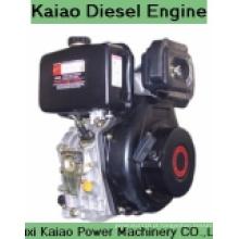 Motor giratório a diesel refrigerado a ar de cilindro único 5HP (KA178F)