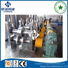 Galvanized steel vineyard line post roll forming machine
