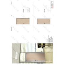 Porte composite en bois massif pour porte et contreplaqué