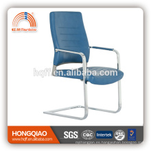 CV-B194BS muebles de oficina moder leather / PU visitante silla cromo metal muebles de oficina