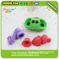 Pingyang SOODODO 3D Fancy Green Dragonfly Eraser a forma di