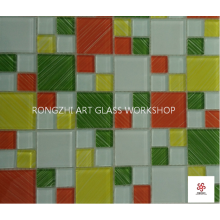 Youthful Melody Glass Mosaic Tiles