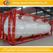 40 pés Container Tanque Asme ISO Contentor Tanque de Gás