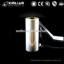 Manufactory fabricante de película bopp transparente en china