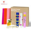 haz tu propio kit de fabricación de velas de bricolaje